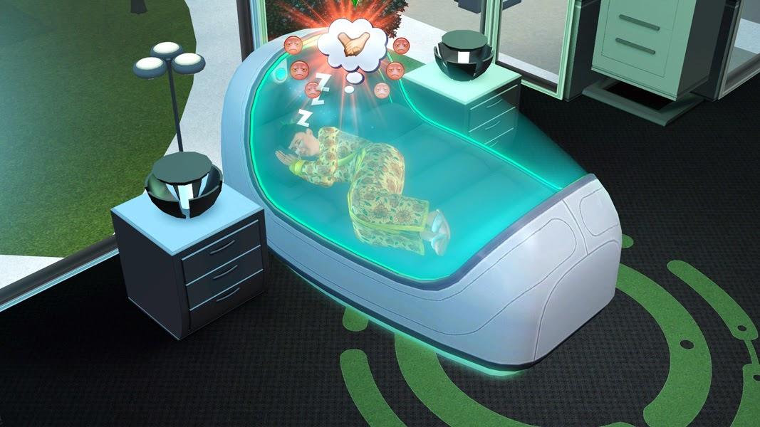 The Sims 3 Into the Future Blogs - Pinguïntech