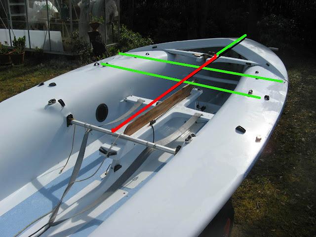 Kiteboat avec un dériveur en caisson. 420CroixdeLorraine