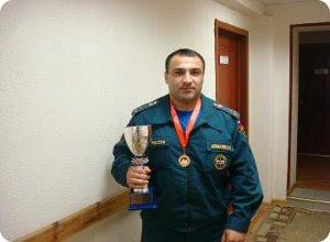 Абсолютный победитель Чемпионата России 2012 года по пауэрлифтингу, жиму лежа и становой тяге