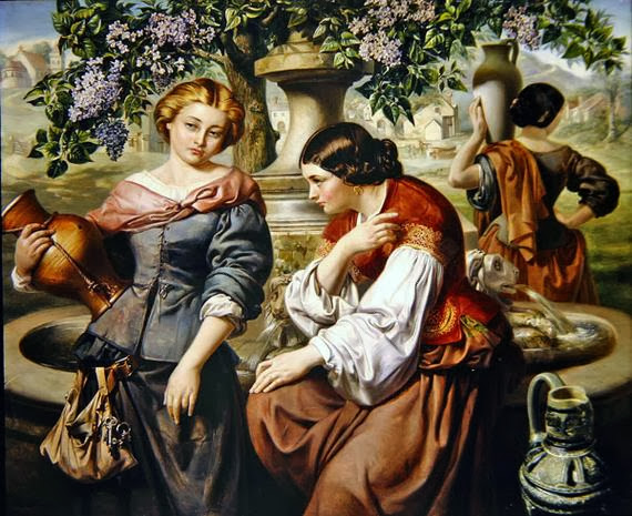 Daniel Maclise - The Village Gossips