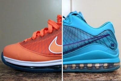nike air max lebron 7 low new pe blue purple 0 01 Nike LeBron VII Low 360   Came From... Going To Pack