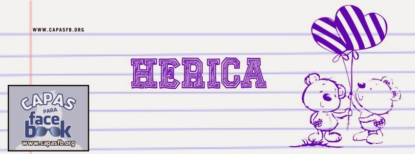 Capas para Facebook Herica