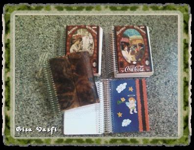 Meus cadernos de receitas