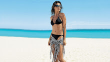 brunettes women bikini beach models sunglasses catrinel menghia swimsuits 1920x1080 wallpaper