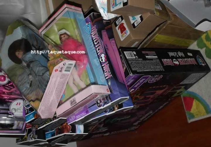 Algunas de las más recientes incorporaciones a mis colecciones Monster High y Barbie