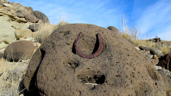 Horseshoe found along Willow Springs Wash