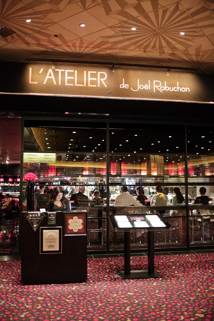 L'Atelier de Joel Robuchon Las Vegas - MGM Restaurants.