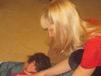 Фоторепортаж с тренинга по ньяса-йоге 12-18 февраля 2012г в Карпатах.786
