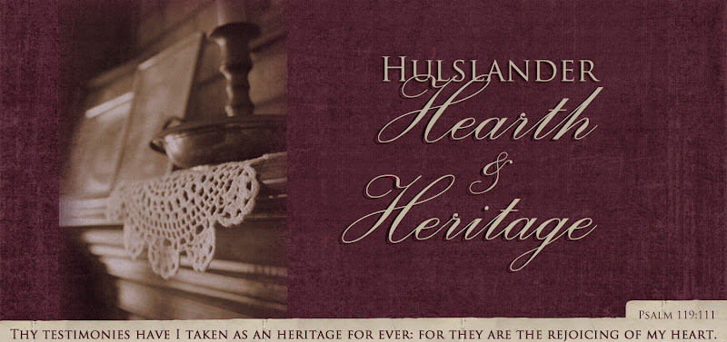 Hulslander Hearth and Heritage