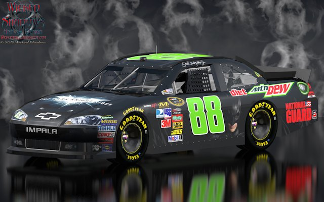Dale Earnhardt Jr The Dark Knight Rises Smoke Wallpaper