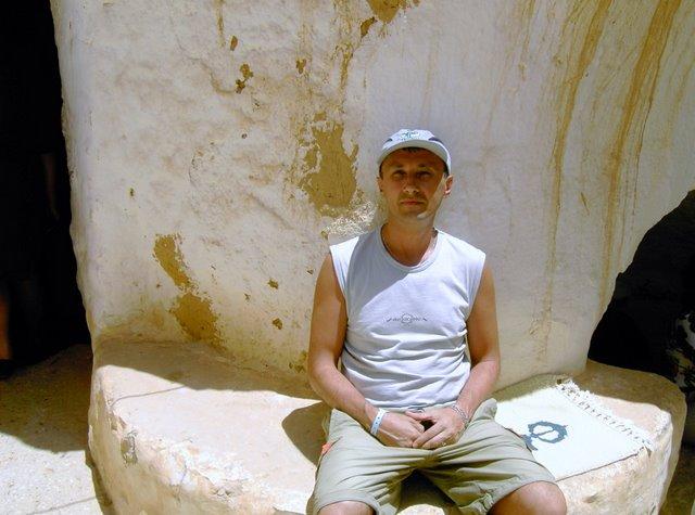 Внутренний двор пещеры берберов