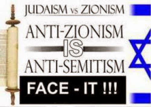 Anti Zionism Is Racism