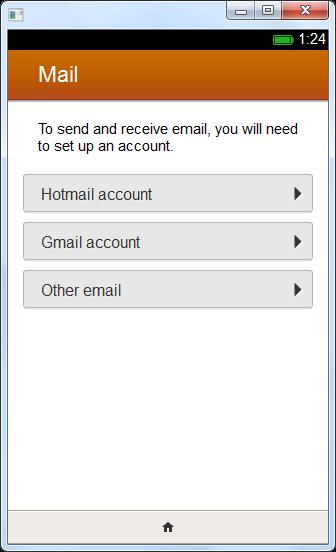 แอพเมลสามารถใช้บัญชี Hotmail และ Gmail