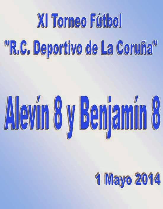 """XI Torneo de Fútbol - 8 """"R. C. DEPORTIVO DE LA CORUÑA"""""""