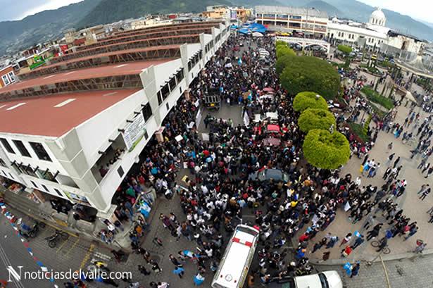 #27A | Salieron a las calles a manifestar su inconformidad