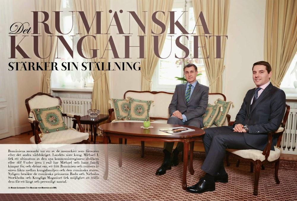 Kungliga Magasinet - Familia Regală a României