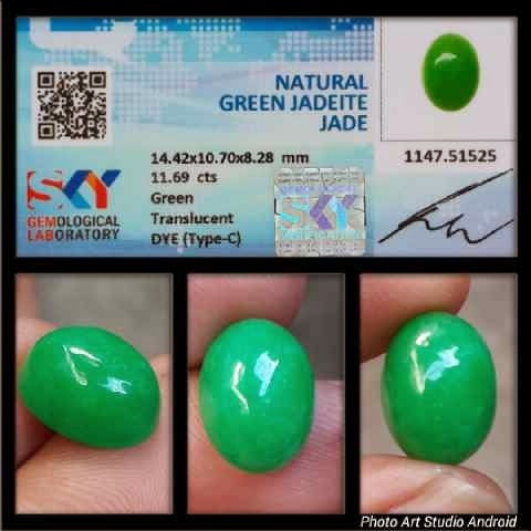 Natural Green Jadeite Jade