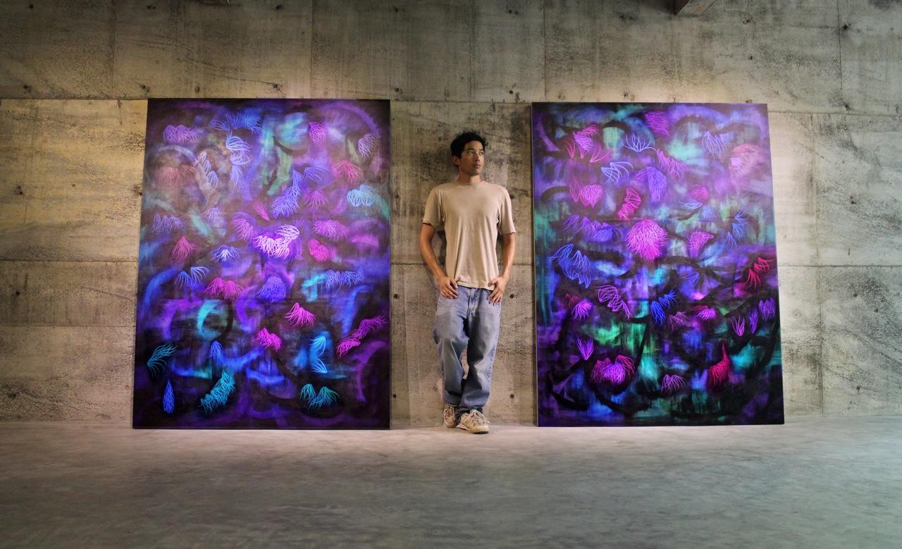 Victor Angelo Paintings International Artist Residence