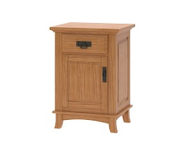 Glasgow Nightstand with Doors