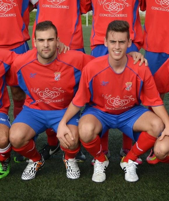Antón e Adrián gañadores do Murillo Viteri do mes de novembro.