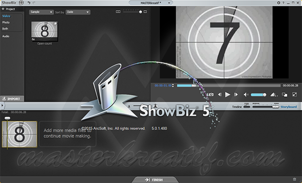 ArcSoft ShowBiz 5
