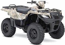 MOUNTOPZ ATV: 2007 Suzuki King Quad 450 4x4 Utility ATV Press Intro