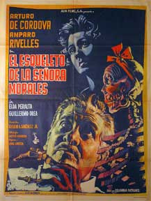 Poster original de El esqueleto de la señora morales