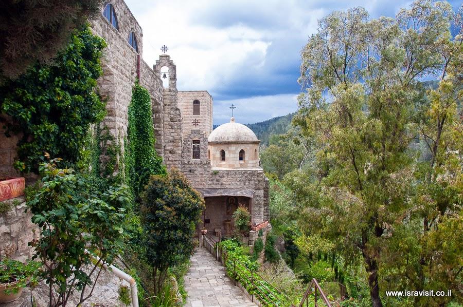 Монастырь Иоанна Крестителя в пустыне. Экскурсия в Израиле Светланы Фиалковой.
