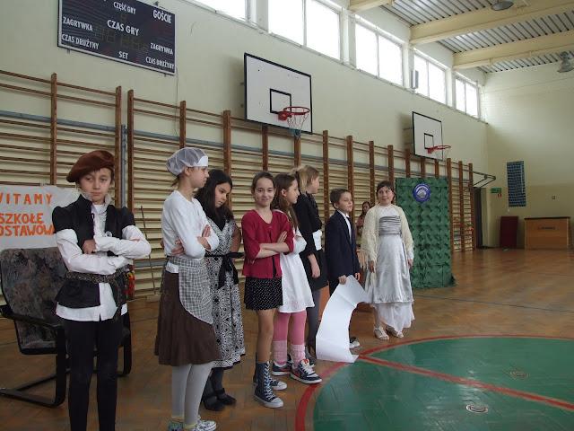 Spotkanie integracyjne uczniów klas szóstych