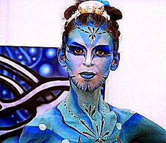 Airbrush Body Paint