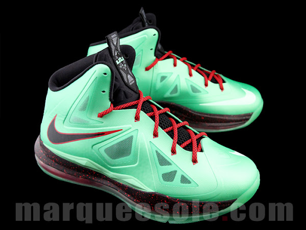 180 Nike LeBron X 8220Cutting Jade8221 8211 Detailed Look