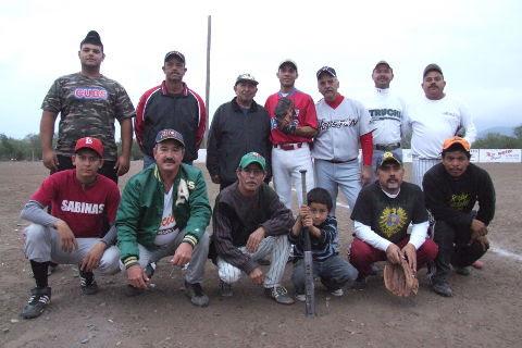 Equipo Sonora del softbol del Club Sertoma.