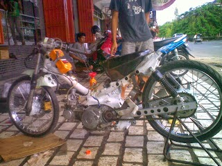 modifikasi motor supra fit lama