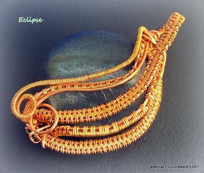 Eclipse Wirework by Caprilicious Jewellery