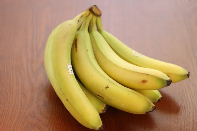 photo of a bunch of bananas