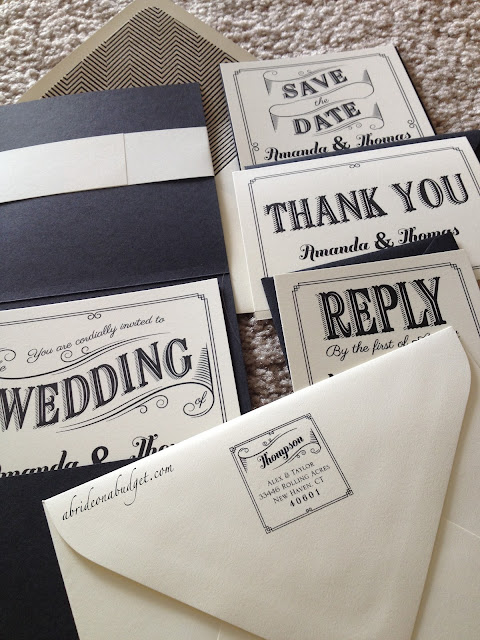 Your wedding invitation isn't the only component of your wedding invitation suites. This post from www.abrideonabudget.com tells you all about your wedding invitation suites and what needs to be included in your wedding invitation.