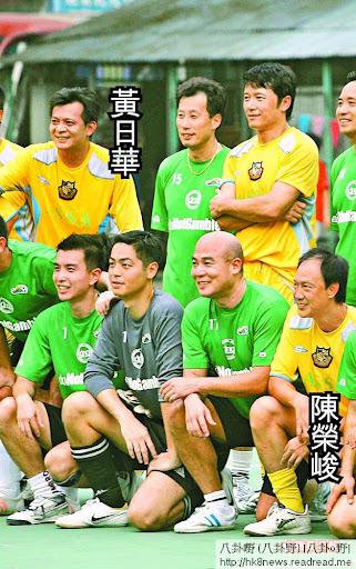 陳榮峻坦言黃日華是他人生中最重要的一個朋友。 資料圖片