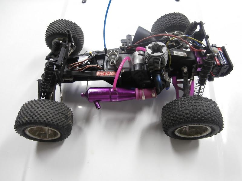 Nitro Rustler With Upgrades Rtr
