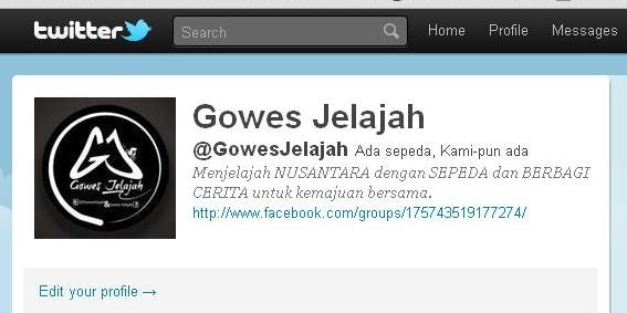 Twitter GowesJelajah