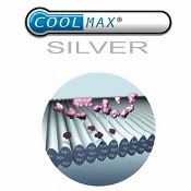 CoolMax Silver Chamois Lining