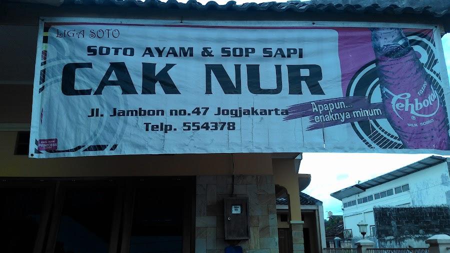 Soto Dan Sop Cak Nur