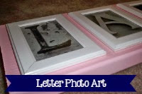 Letter Photo Art