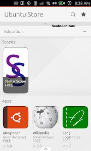 Ubuntu Touch store