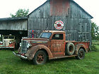 Diamond T Model 201 pickup  Serial 1001 barn find with Deluxe cab heater