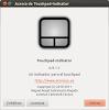 Touchpad-Indicator en Oneiric Ocelot