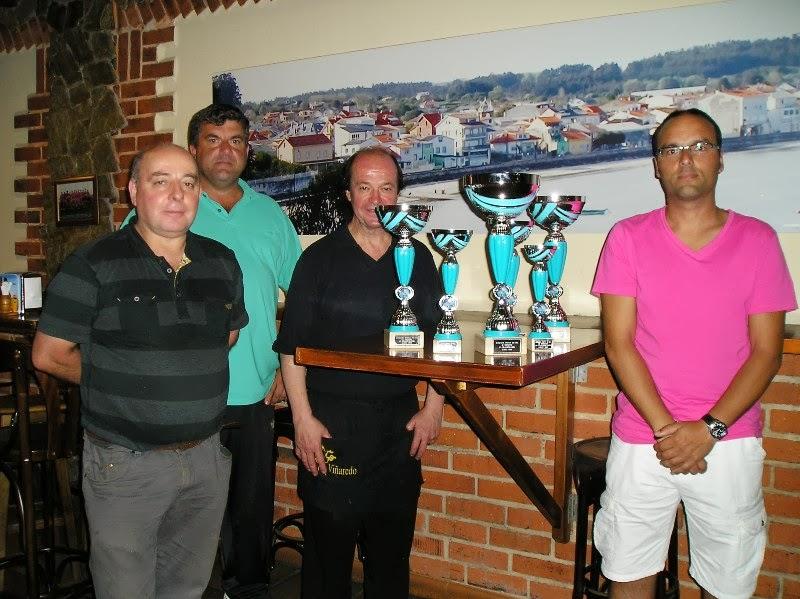 Presentación do II Trofeo Vinoteca Porta do Sol categoría xuvenil.
