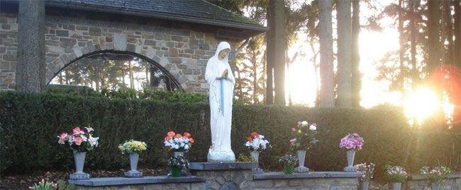 Banneux, la Virgen de los Pobres