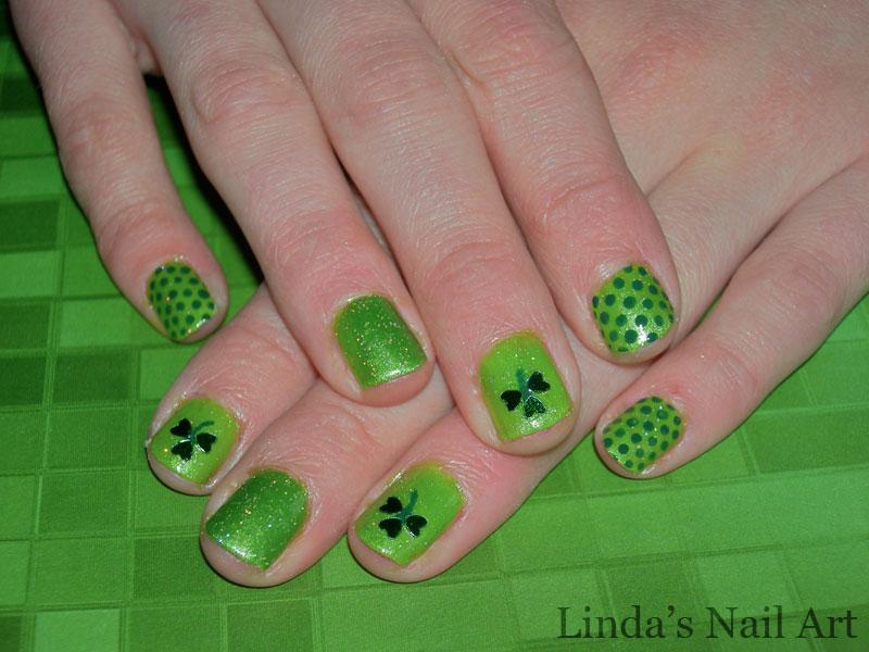 I *heart* St. Patrick\'s Day | Linda\'s Nail Art