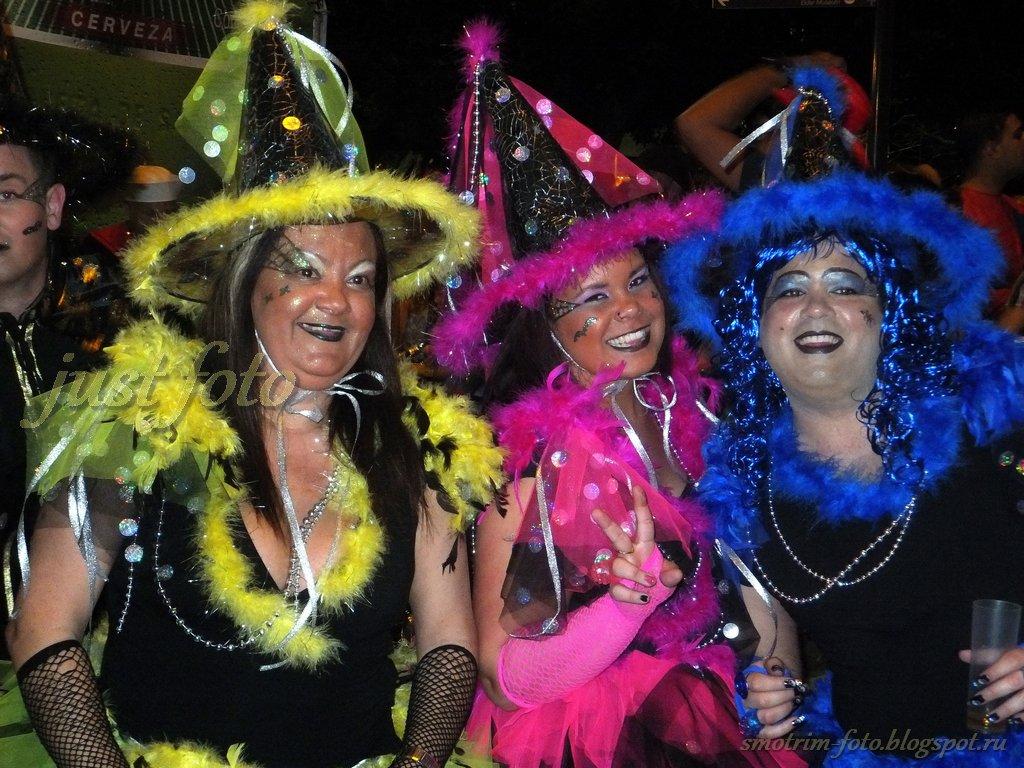 Карнавал Cabalgata 2012 в Лас-Пальмас фото
