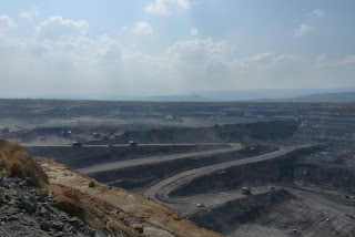 Industrial-Scale Strip Mine